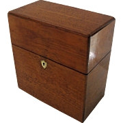 Early 19th Century English Mahogany Case Bottle Box With Two Gilt Decorated Decanters