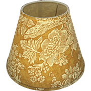 "Pierre Deux ""La Declaration"" French Country Toile Lamp Shade Gold"