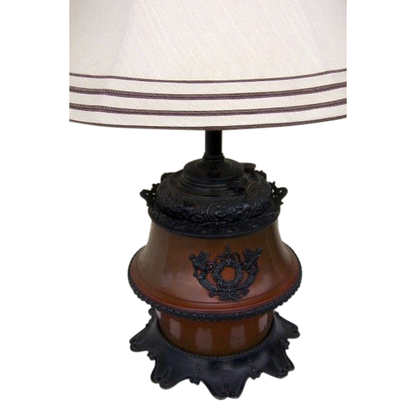 Oil Lamp by Brandy and Hubbard Neo-classical