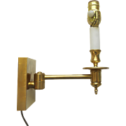 French Bronze Articulated Wall Sconce