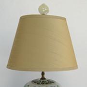 Ginger Jar with Dragon Motif Lamp