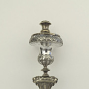 Italian Repousse Alter Candlestick