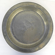 18th Century English Shallow Bowl 16""