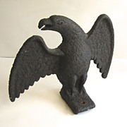 American Cast Iron 19th Century Snow Bird Eagle
