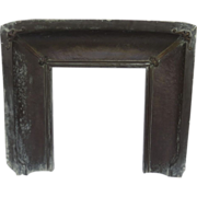 Copper Verdigris Fireplace Insert Arts & Crafts
