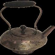 S. Sternau & Company Low Teapot Plenty of Wear Prop Character