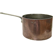 Huge Copper Pan from Hollywood Hotel Roosevelt by Elkington & Co.