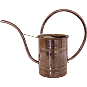 Vintage Solid Copper Small Plant Watering Can