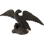 19th Century Cast Iron Eagle