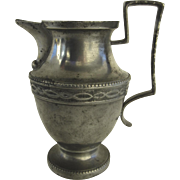 19th Century European Pewter Milk Jug