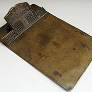Antique Copper Letter Clip Ludlow Saylor Wire Company