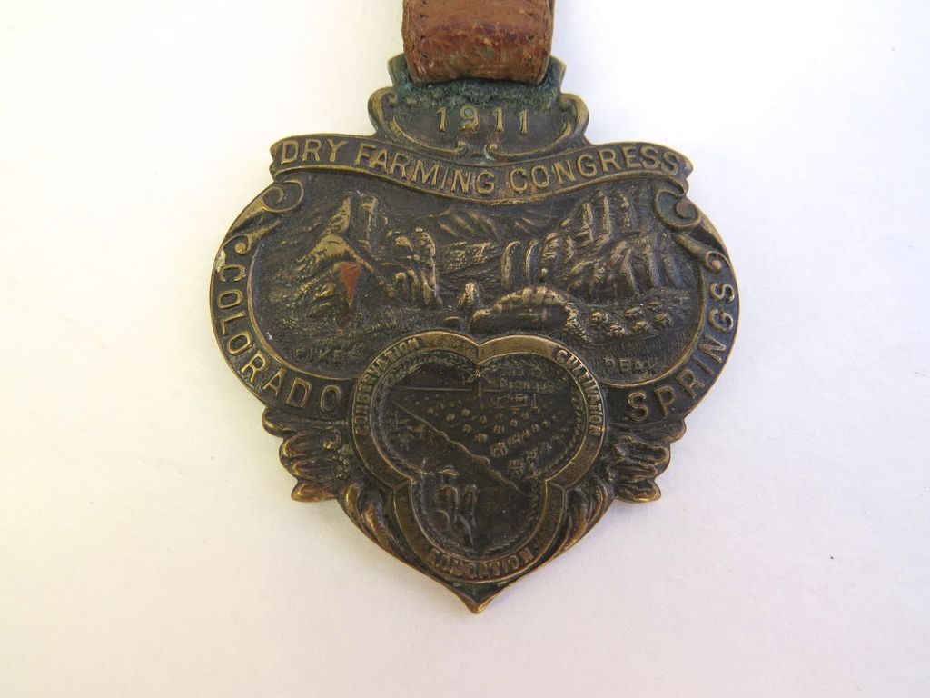 Badge Luggage Tay Dry Farming Congress Colorado Springs 1911