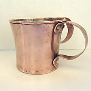 English Pass Cup Copper Two Handled c1800