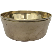 English Small bell Metal Bowl c 1760