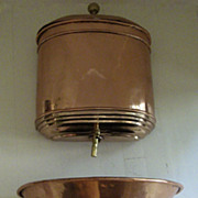 Copper and Brass French Lavabo