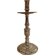 """Maitland Smith Solid Brass Mid Drip Tall Candlestick 12"""""""