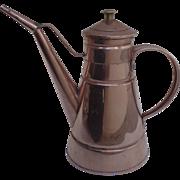 Vintage Copper Kitchen Pitcher Tin Lined