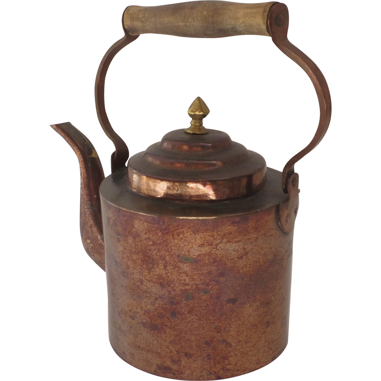 Vintage Copper Teapot 103