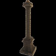 Grand Tour Bronze Column Vendome Austerlitz Souvenir
