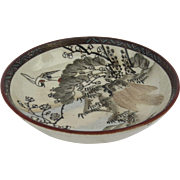 Small Satsuma Dish Bowl c 1860's