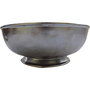 Vintage Large Serving Bowl by Juliska Pewter Stoneware