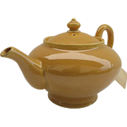 Vintage Bright Yellow Tea Pot