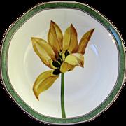 """Vintage Laure Japy Tulips Limoges Paris France Bowls 6 3/4"""""""