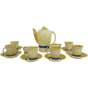 Susie Cooper Crown Works Burslem Art Deco Tea Set Coffee Set