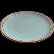 Vintage Noritake Stoneware Boulder Ridge #8674 Dinner Plate Native American Southwest Motif