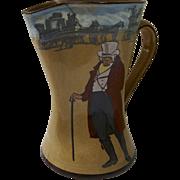 "Royal Doulton jug pitcher ""Ye Squire Ye Passenger"""