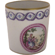 Vintage Pittoria Mother and Child Demitasse Cup Italy