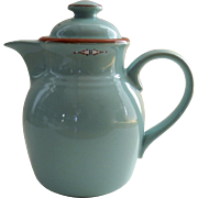 Vintage Noritake Stoneware Boulder Ridge Coffee Pot 8674 Native American Southwest Motif