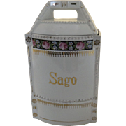 Vintage Germany Sago Kitchen Canister