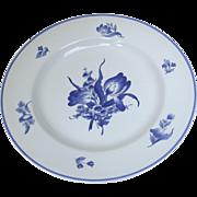 """Rochelle Dinner Plate Spode 10.5"""" Blue and White"""