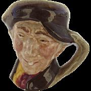 """Vintage Royal Doulton Miniature Toby Jug """"Arry"""