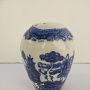 Blue Willow Pepper Pot