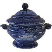 Early 19th Century Staffordshire Small Soup Tureen