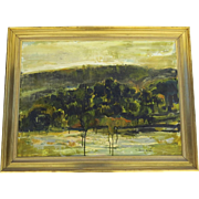 Large Oil on Canvas by Michel JOUENNE (1933) France