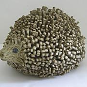 Large Pottery Hedgehog English