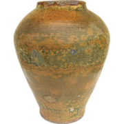 Glazed Large Oil or Water Pot
