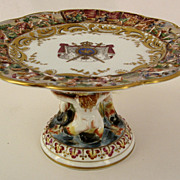 Capodimonte Footed Compote
