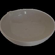 Very Large Vintage Coors Ceramic Bowl Pour Spout