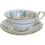 Vintage Hammersley Bone China Cup and Saucer Set made for T. Goode & Co. Ltd. of London