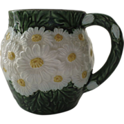 Vintage Haldon Group 1988 Raised Daisy Pattern Majolica Cup