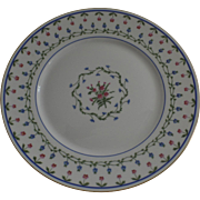 """Vintage 1960's 3 x Raynaud Ceralene Limoges France Porcelain Dinner Plates """"Lafayette"""""""