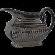 English Silver Luster Cream Creamer c 1820