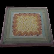 Vintage MacKenzie Childs Trivet Tile Brittany