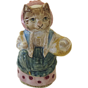 Beatrix Potter COUSIN RIBBY Figurine F. Warne & Co, Beswick, England