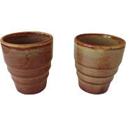 Gladding McBean/Franciscan Pottery Tumblers