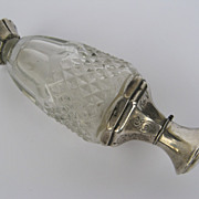 European Silver and Cut Glass Perfume